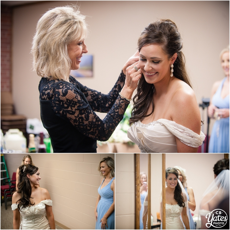 Bride getting ready Omaha Wedding Photography