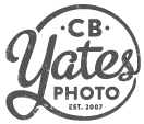 Omaha & Gretna Nebraska Wedding Photographer – cb Yates Photography logo